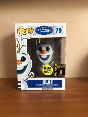 DISNEY FROZEN - OLAF #79 GLOW (SDCC 2014) FUNKO POP! VINYL - HDTOYS Shop
