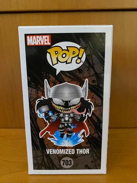 MARVEL VENOM - VENOMIZED THOR  #703 (CHALICE EXCLUSIVE) FUNKO POP! VINYL