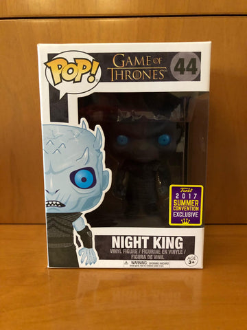 GAME OF THRONES - NIGHT KING #44 (SDCC 2017) FUNKO POP! VINYL - HDTOYS Shop
