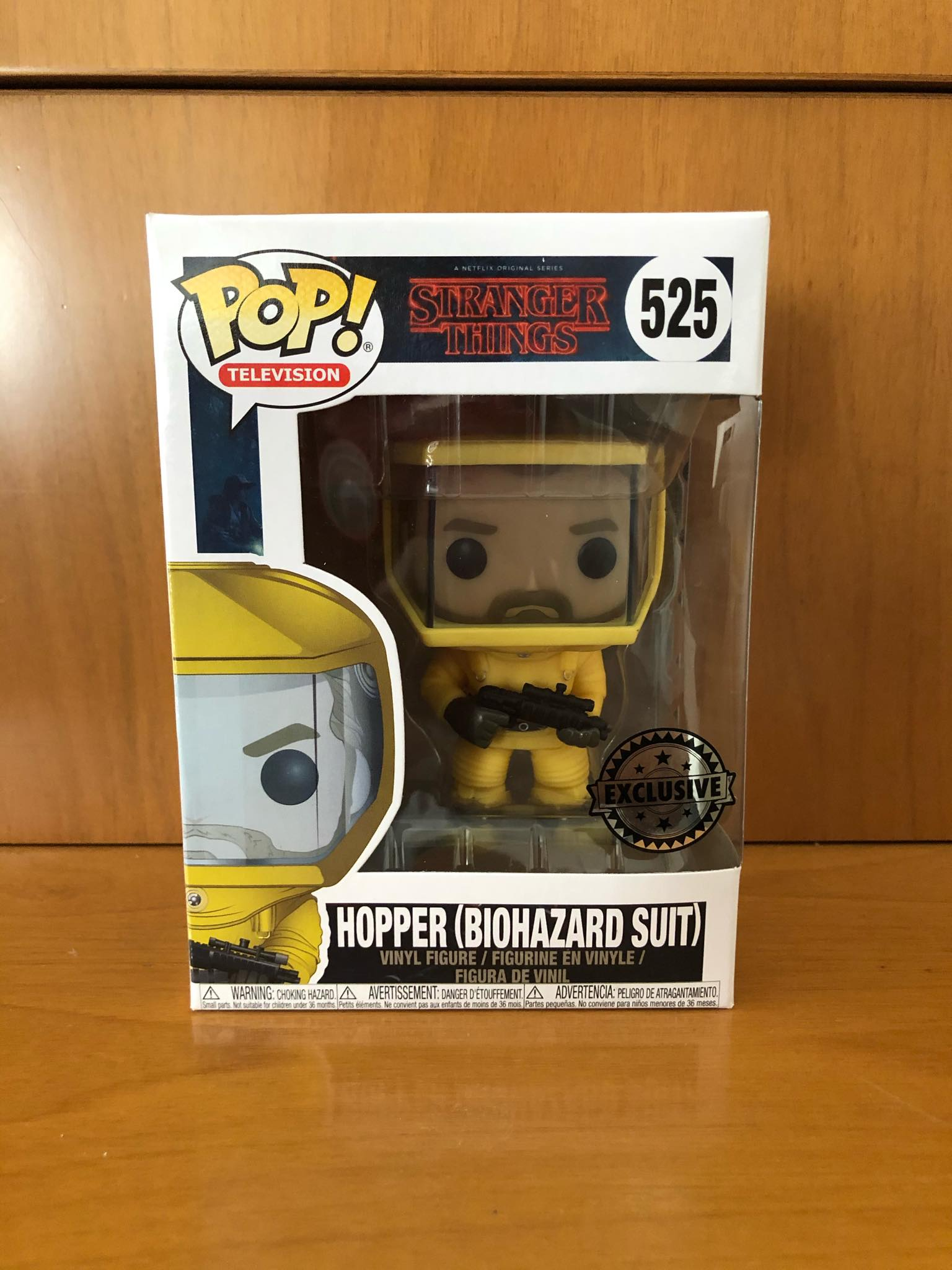 STRANGER THINGS - HOPPER BIOHAZARD SUIT #525 (EXCLUSIVE) FUNKO POP! VINYL - HDTOYS Shop