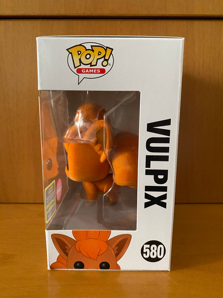 POKÉMON - FLOCKED VULPIX #580 (2020 SDCC) FUNKO POP! VINYL - HDTOYS Shop