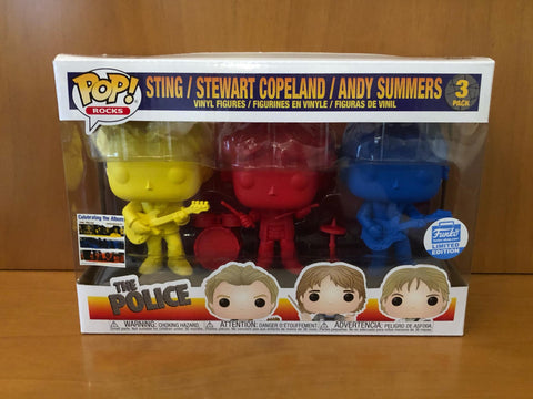 ROCKS - THE POLICE - STING STEWART ANDY 3 PACK (FUNKO SHOP) FUNKO POP! VINYL - HDTOYS Shop