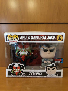 AKU & SAMURAI JACK - ANIMATION - 2 PACK - NYCC 2019 - (FUNKO SHOP) - FUNKO POP! VINYL - HDTOYS Shop