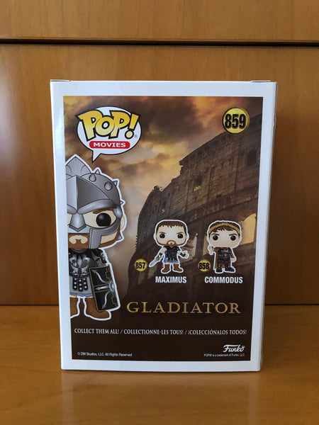 THE GLADIATOR - MAXIMUS - #859 (FUNKO SHOP) - FUNKO POP! VINYL - HDTOYS Shop