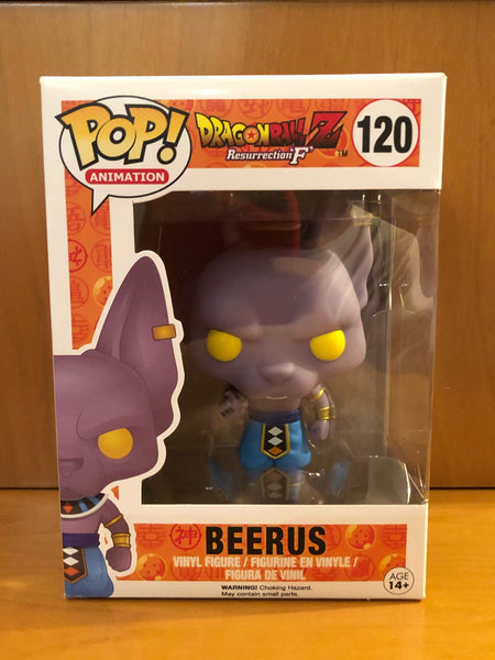 DRAGON BALL Z - RESURRECTION F - BEERUS #120 -  FUNKO POP! VINYL - HDTOYS Shop