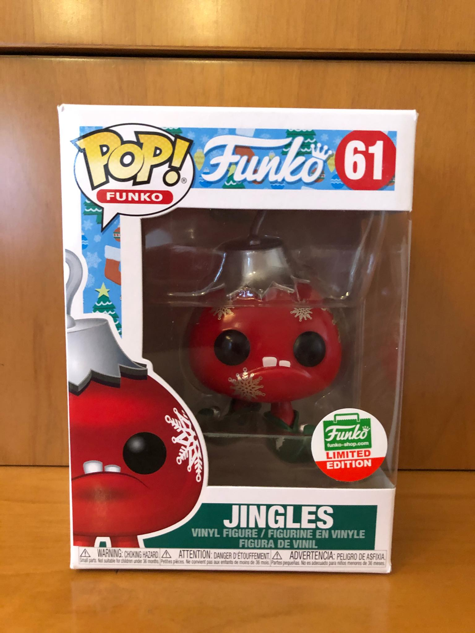 FUNKO - JINGLES - #61 (FUNKO SHOP EXCLUSIVE) - FUNKO POP! VINYL - HDTOYS Shop