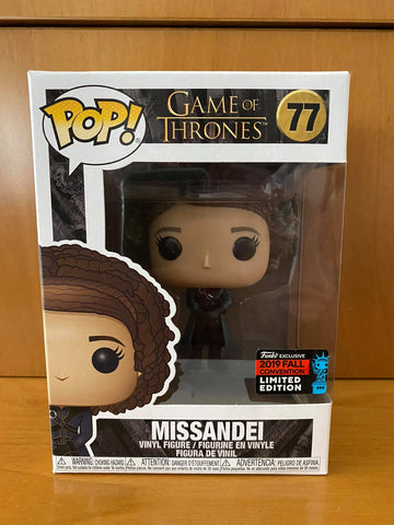 GAME OF THRONES - MISSANDEI #77 (2019 NYCC) FUNKO POP! VINYL - HDTOYS Shop