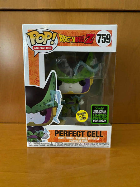 DRAGON BALL Z - PERFECT CELL #759 GLOW (2020 ECCC) FUNKO POP! VINYL - HDTOYS Shop