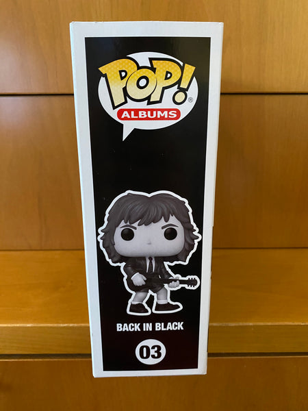ALBUMS - AC/DC - BACK IN BLACK #03 (WALMART EXCLUSIVE) FUNKO POP! VINYL