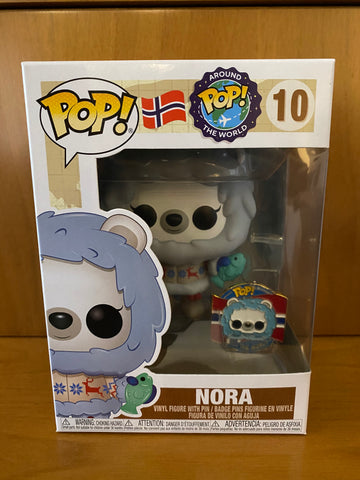 AROUND THE WORLD -  NORA #10 FUNKO POP! VINYL