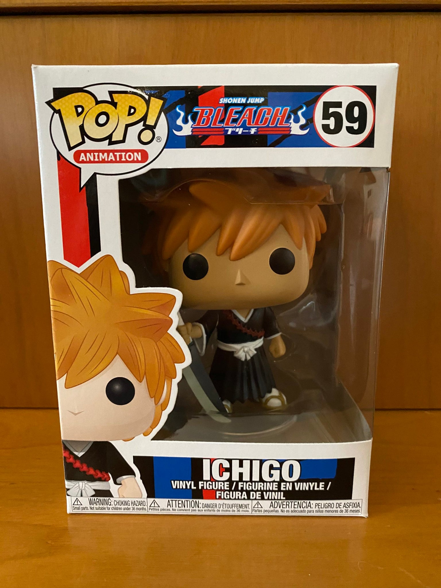 BLEACH - ICHIGO #59 FUNKO POP! VINYL - HDTOYS Shop