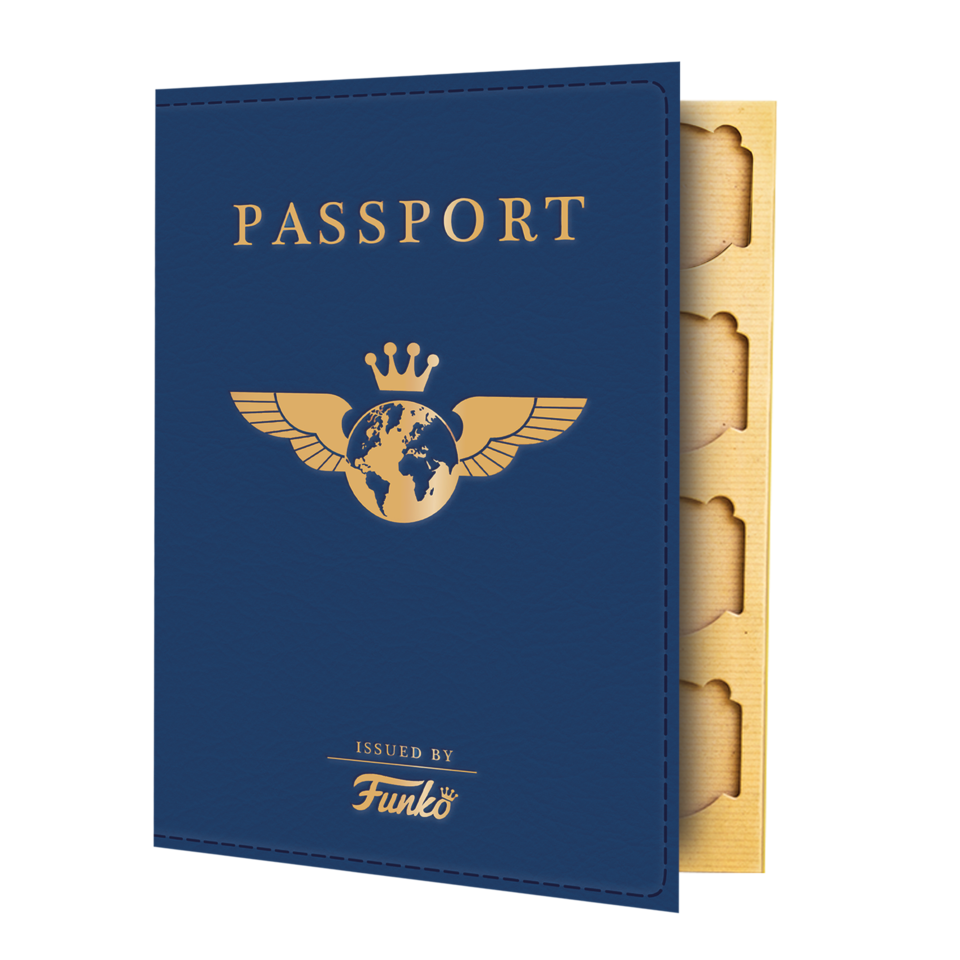 PASSPORT BOOK - AROUND THE WORLD - HDTOYS Shop