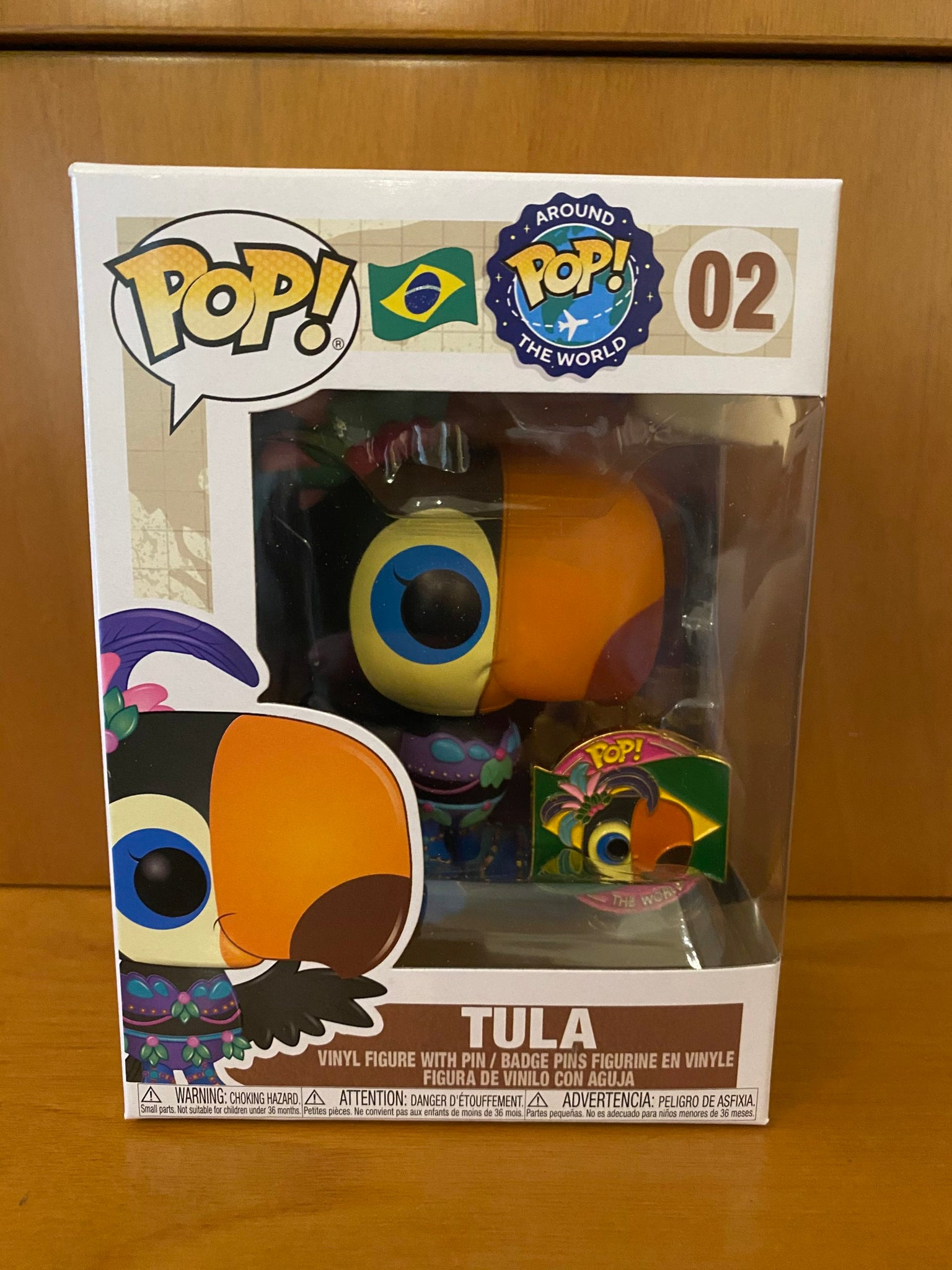 AROUND THE WORLD - TULA #02 FUNKO POP! VINYL - HDTOYS Shop