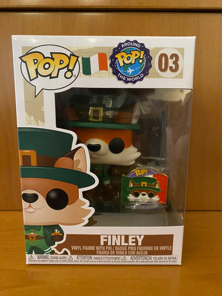 AROUND THE WORLD - FINLEY #03 FUNKO POP! VINYL - HDTOYS Shop