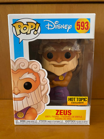DISNEY - ZEUS #593 (HOT TOPIC EXCLUSIVE) FUNKO POP! VINYL - HDTOYS Shop