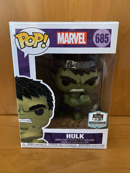 MARVEL - HULK  #685 (HQ FUNKO  EXCLUSIVE) FUNKO POP! VINYL
