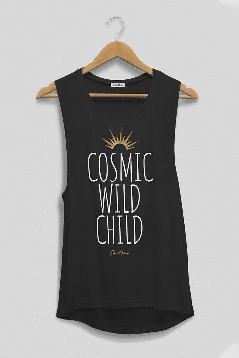Cosmic Wild Child Scoop Muscle Tank