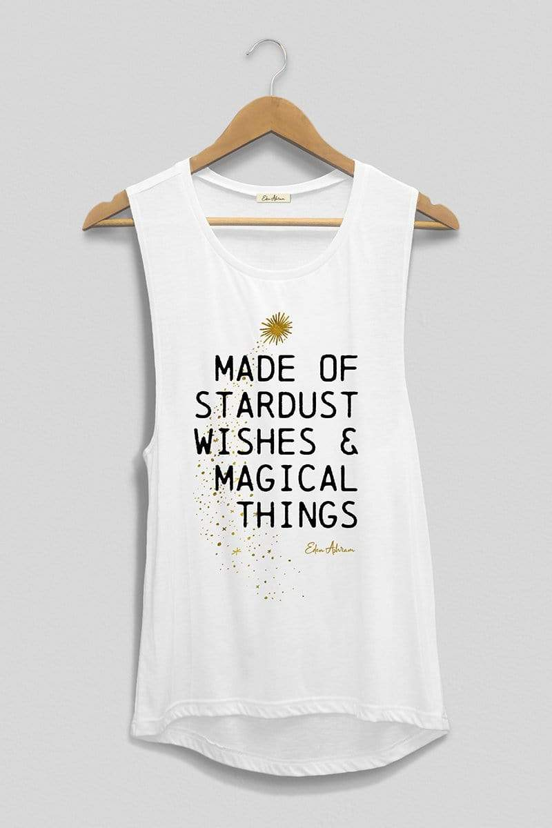Made of Stardust Scoop Muscle Tank