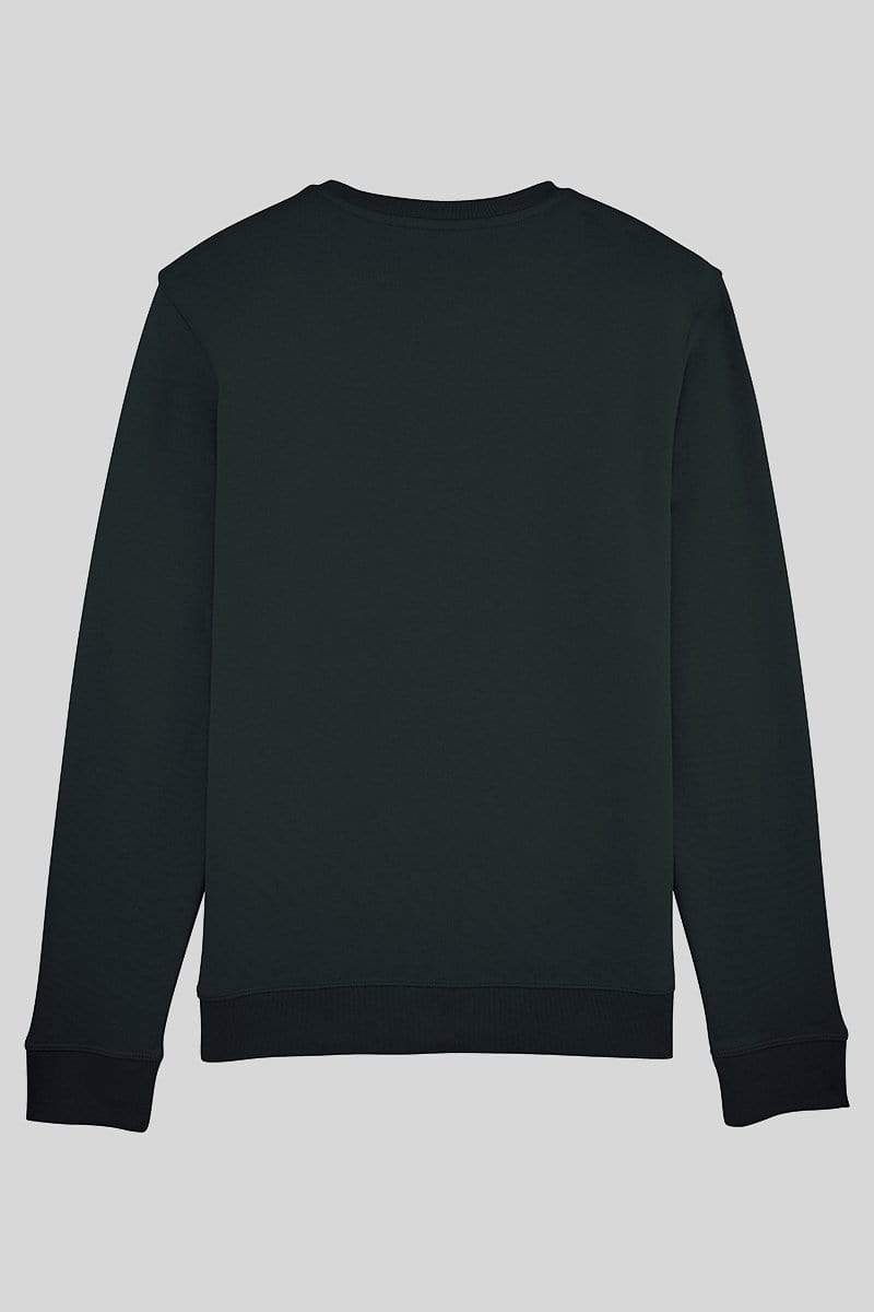 EDEN ASHRAM Trust The Universe Terry Sweatshirt - Vintage Black