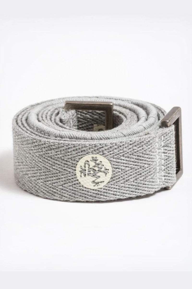 Manduka Commuter Yoga Mat Strap Heather Grey Bliss