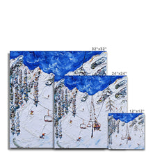 Load image into Gallery viewer, KT-22 Chair Lift Squaw Valley Canvas