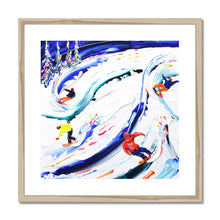 Load image into Gallery viewer, Ripping it up Whistler Style Framed & Mounted Print