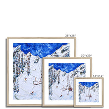 Load image into Gallery viewer, KT-22 Chair Lift Squaw Valley Framed & Mounted Print