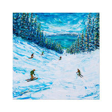 Load image into Gallery viewer, A Lake In Heavenly Called Tahoe Fine Art Print Ski Poster