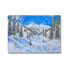 Load image into Gallery viewer, Kitzbuhel Relaxing Day on the Pistes Canvas
