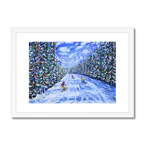 Ripsaw Beaver Creek Skiing Framed & Mounted Print