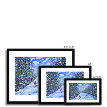 Load image into Gallery viewer, Ripsaw Beaver Creek Skiing Framed & Mounted Print
