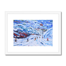 Load image into Gallery viewer, Val Thorens - Funitel Peclet and Stades Chair Framed & Mounted Print