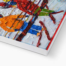 Load image into Gallery viewer, Tignes Chair Lift Ski Print Canvas