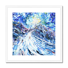 Load image into Gallery viewer, Aiguille Rouge Piste Framed & Mounted Print