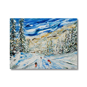 Avoriaz to Morzine Crot Piste Canvas