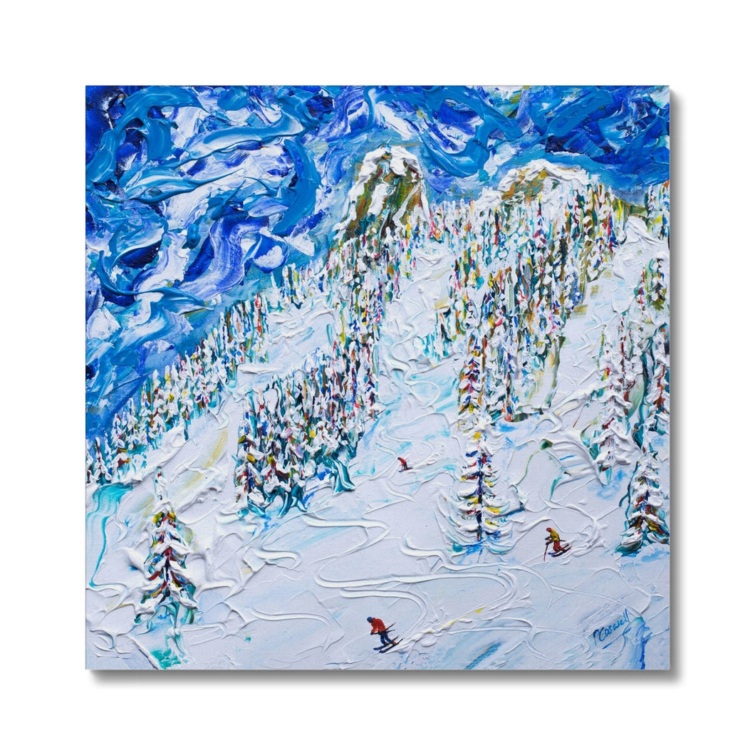 Mt Blanc Chair Les Arcs Canvas