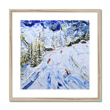 Load image into Gallery viewer, Coffee Stop at Courmayeur Framed & Mounted Print