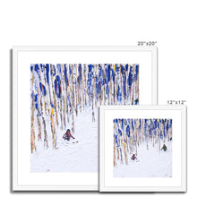 Load image into Gallery viewer, Vail and Beaver Creek Framed & Mounted Print
