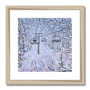 Chair 22 Vail - Nothing To See Framed & Mounted Print