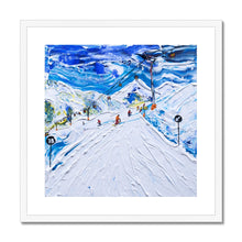 Load image into Gallery viewer, Kitzbuhel Start of Piste 38 Framed & Mounted Print