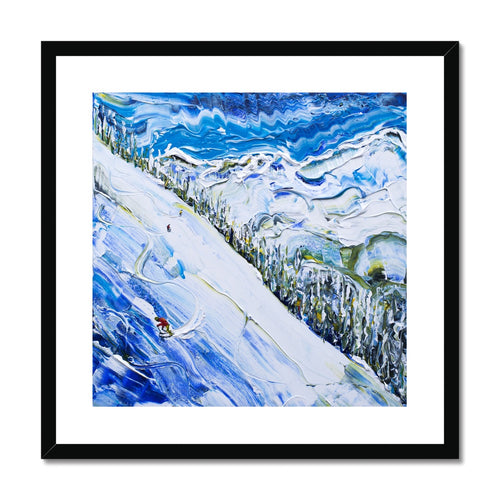Argentiere Chamonix Framed & Mounted Print