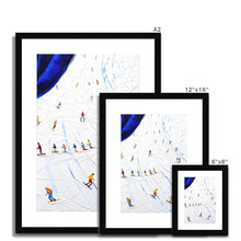Load image into Gallery viewer, Henri Piste Tignes Val d'Isere Framed & Mounted Print