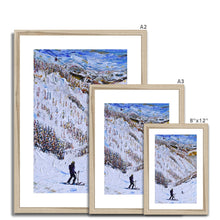 Load image into Gallery viewer, Aspen Resort Ski Print Framed & Mounted Print