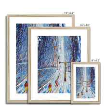 Load image into Gallery viewer, Drag Lift Verbier Framed & Mounted Print