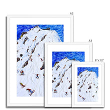 Load image into Gallery viewer, Saliure Meribel and Courchevel Framed & Mounted Print