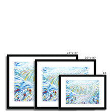 Load image into Gallery viewer, Courchevel Creux Piste Framed & Mounted Print