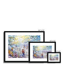 Load image into Gallery viewer, Aiguille Rouge Framed & Mounted Print