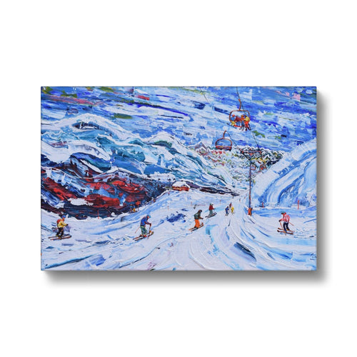 Val Thorens - Funitel Peclet and Stades Chair Canvas