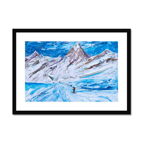 Cervinia Framed & Mounted Print