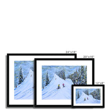 Load image into Gallery viewer, Grande Massif Framed & Mounted Print